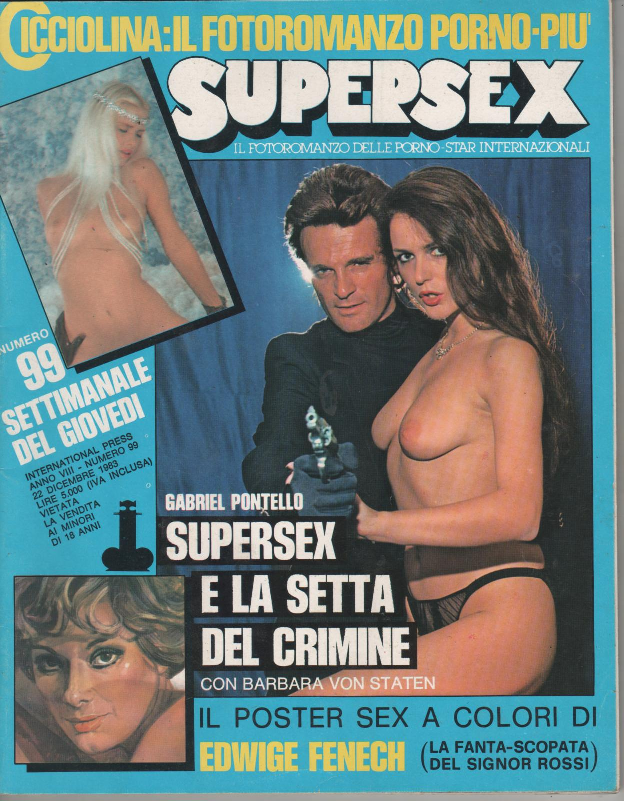 SUPERSEX  N. 99   SUPERSEX E LA SETTA DEL CRIMINE