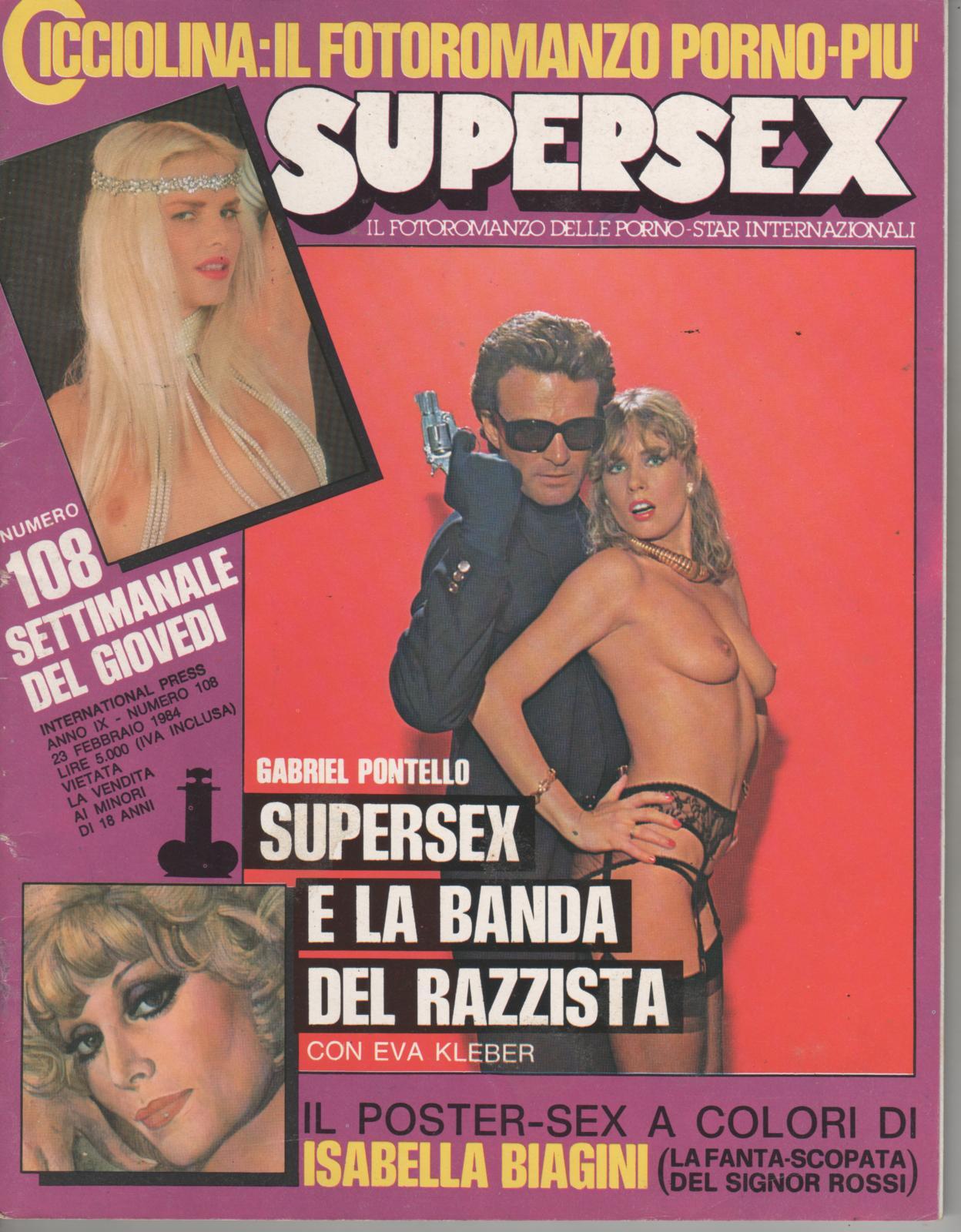 SUPERSEX  N. 108   SUPERSEX E LA BANDA DEL RAZZISTA