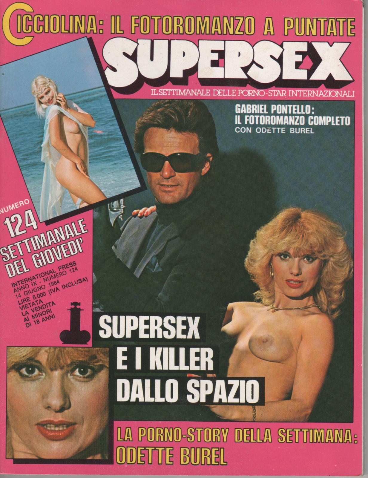 SUPERSEX  N. 124   SUPERSEX E I KILLER DALLO SPAZIO