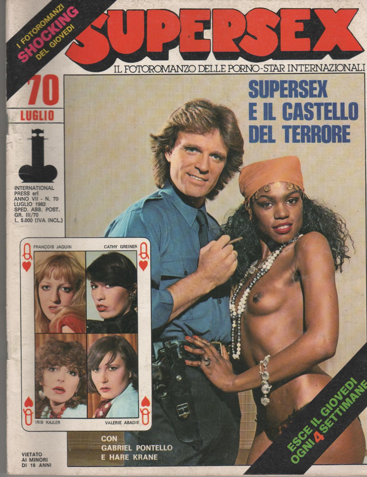 SUPERSEX  N. 70    SUPERSEX E IL CASTELLO DEL TERRORE