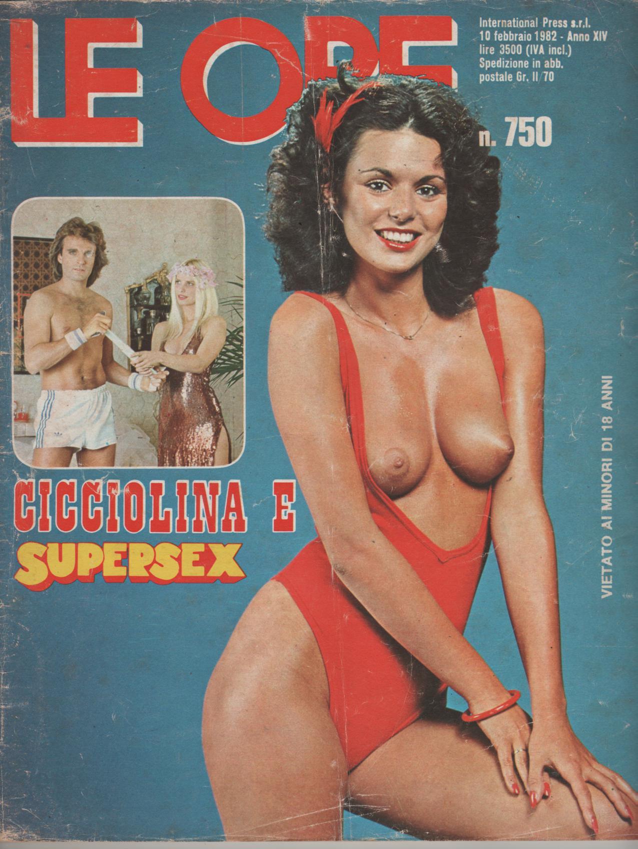 LE ORE # 750 / 1982 CICCIOLINA e SUPERSEX