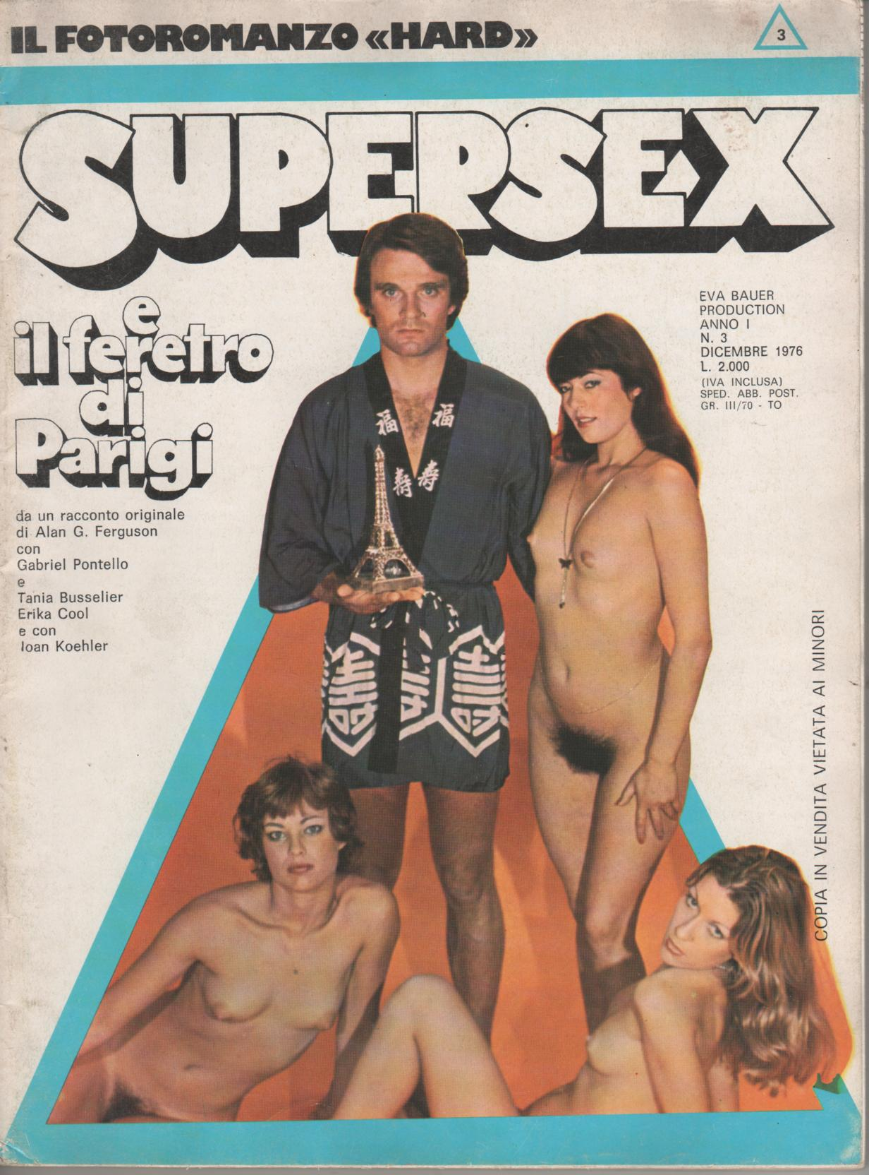 SUPERSEX  N. 3    SUPERSEX E IL FERETRO DI PARIGI