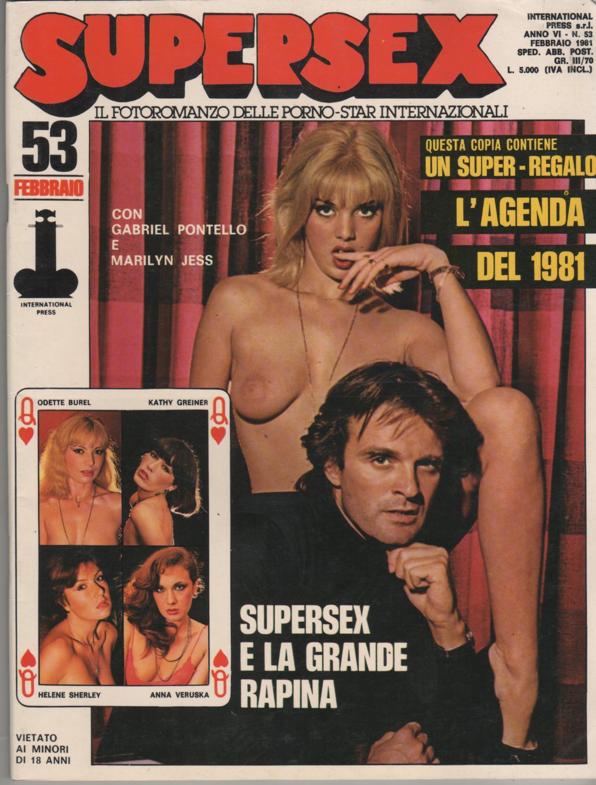 SUPERSEX  N. 53    SUPERSEX E LA GRANDE RAPINA