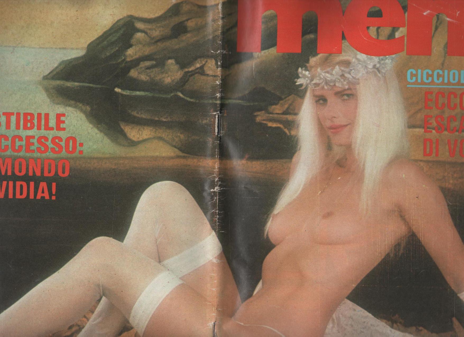 MEN  # 8  / 1983 CICCIOLINA TRIONFA