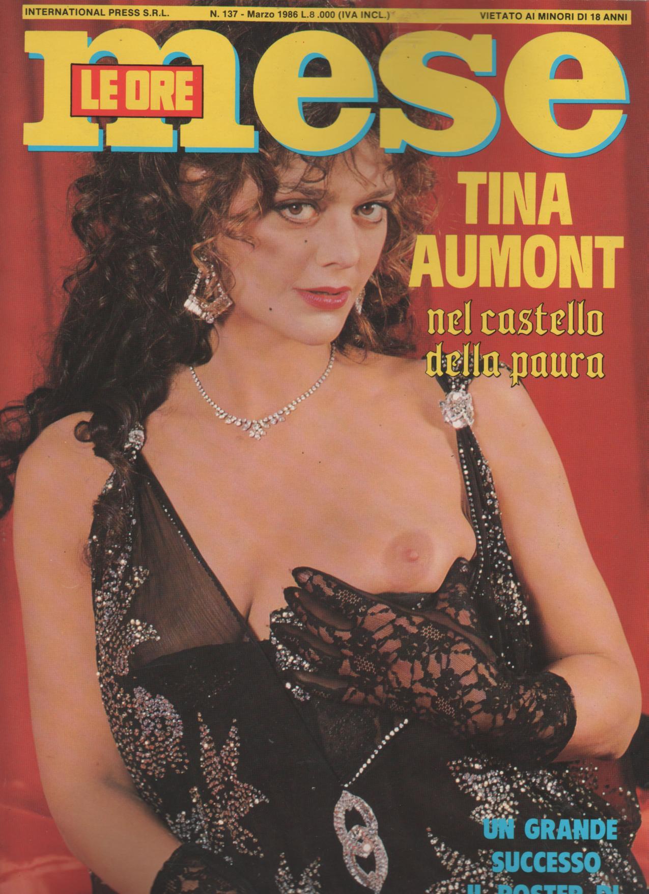 MESE LE ORE  # 137 / 1986  con  TINA AUMONT hard