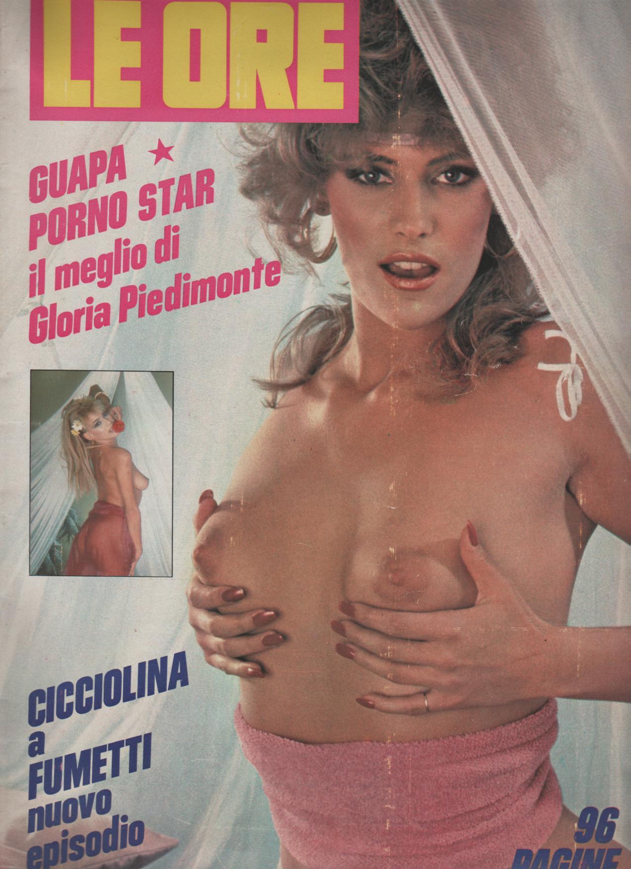 LE ORE  # 896 / 1984  con  GLORIA PIEDIMONTE la guapa HARD