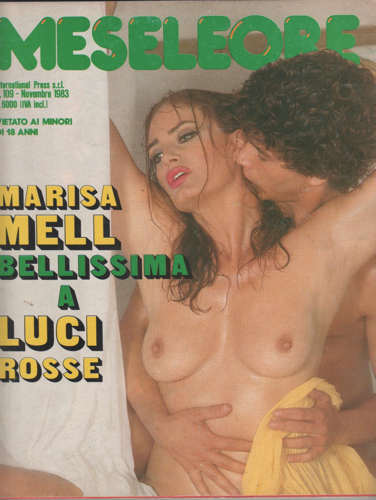 MESE LE ORE  # 109 / 1983  con  MARISA MELL  a luci rosse