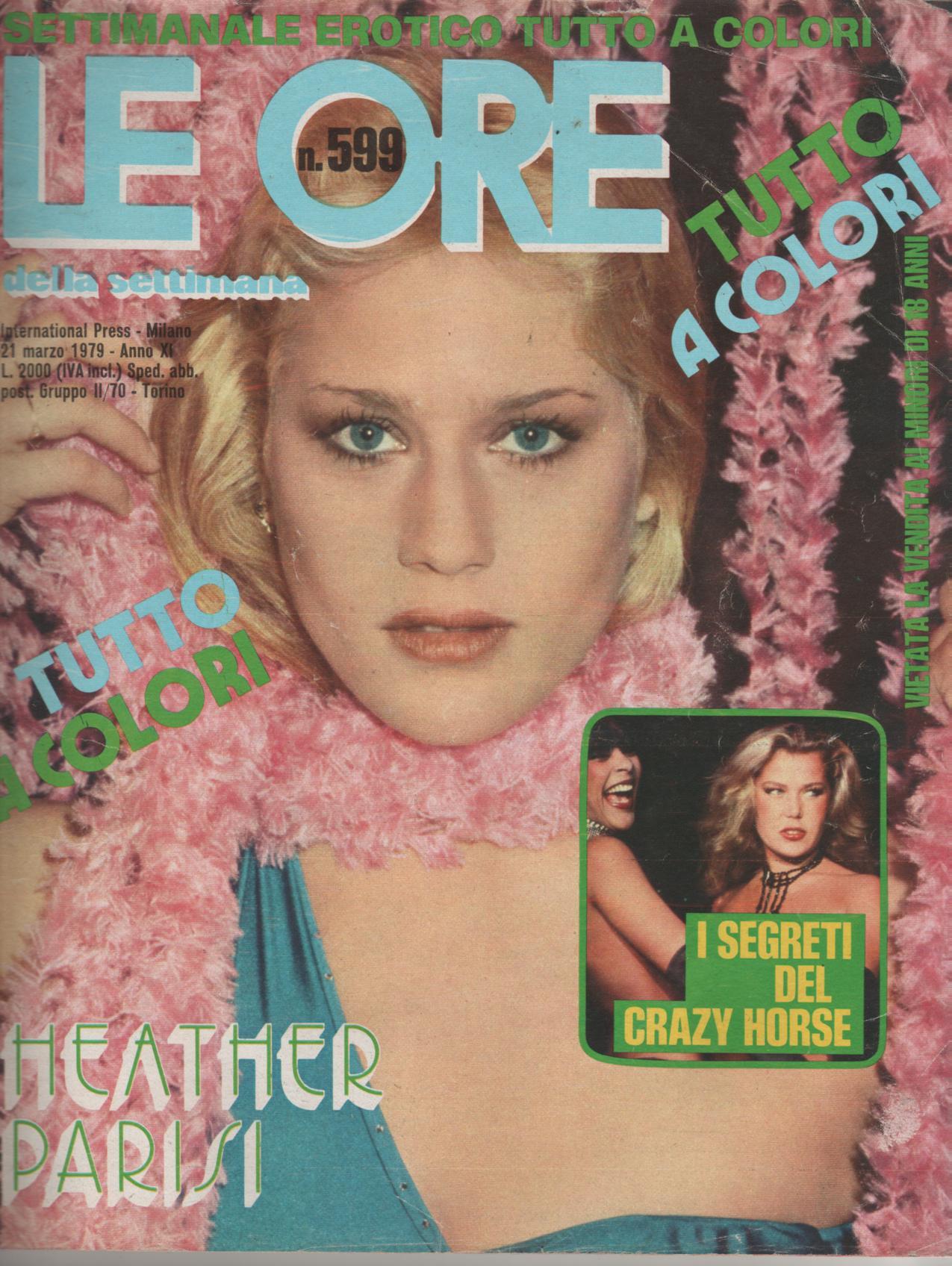 LE ORE  # 599 / 1979  HEATHER PARISI  softcore
