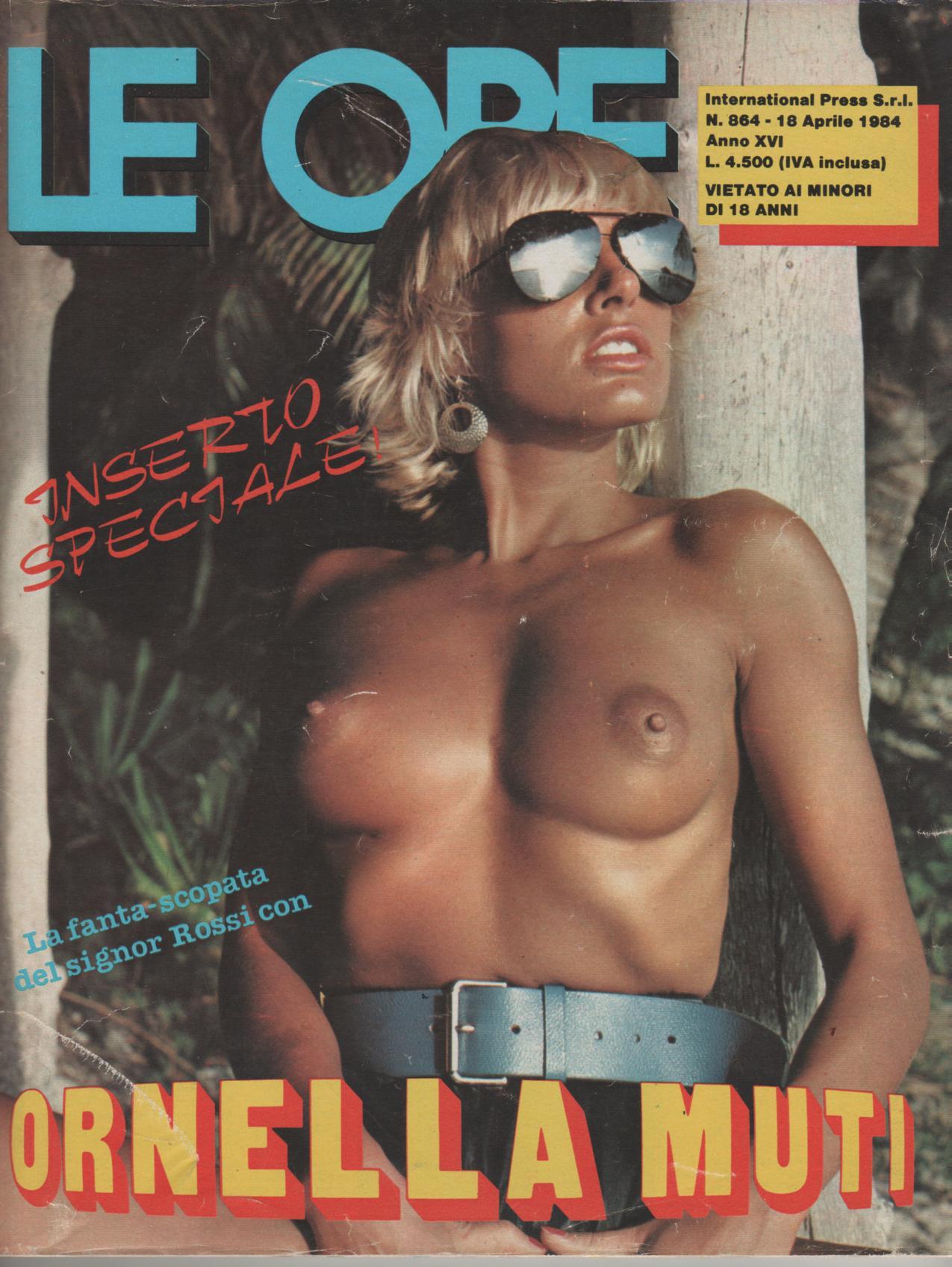 LE ORE  # 864 / 1984  fantascopata con ORNELLA MUTI