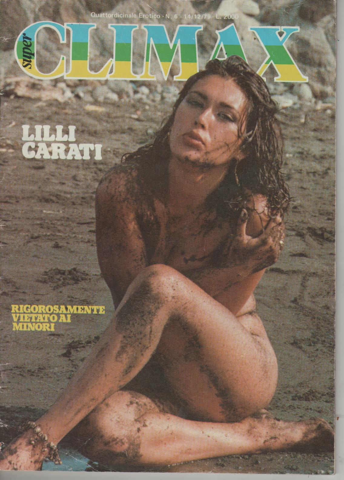 SUPER CLIMAX  # 6 / 1979   LILLI CARATI  softcore