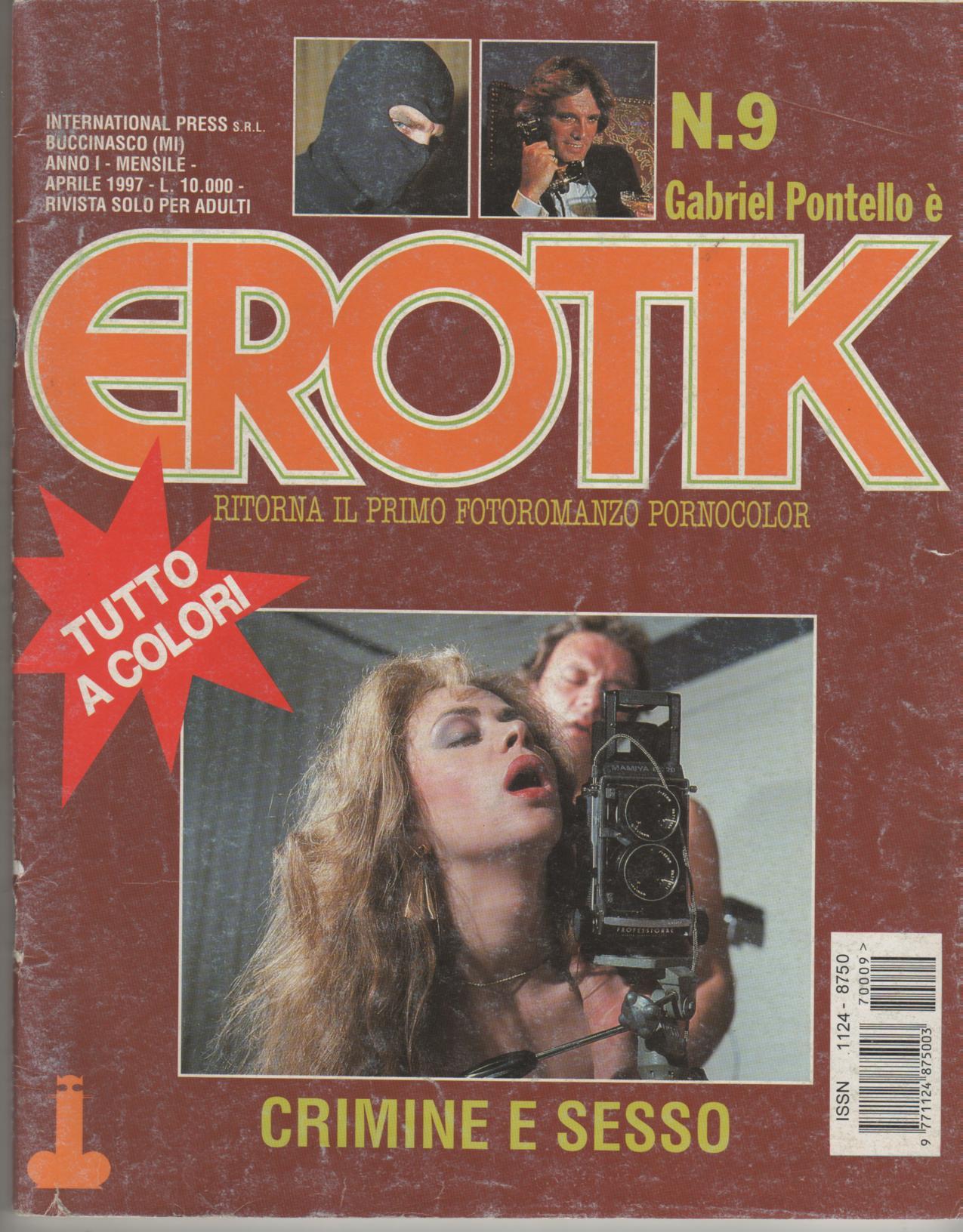 EROTIK  reissue  N. 9    CRIMINE E SESSO
