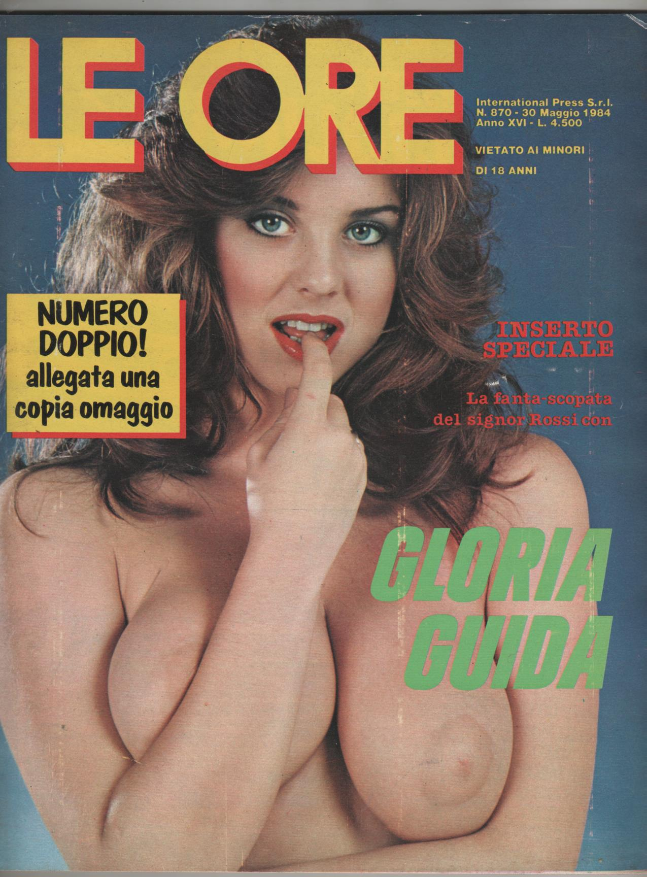 LE ORE  # 870 / 1984  fantascopata con GLORIA GUIDA