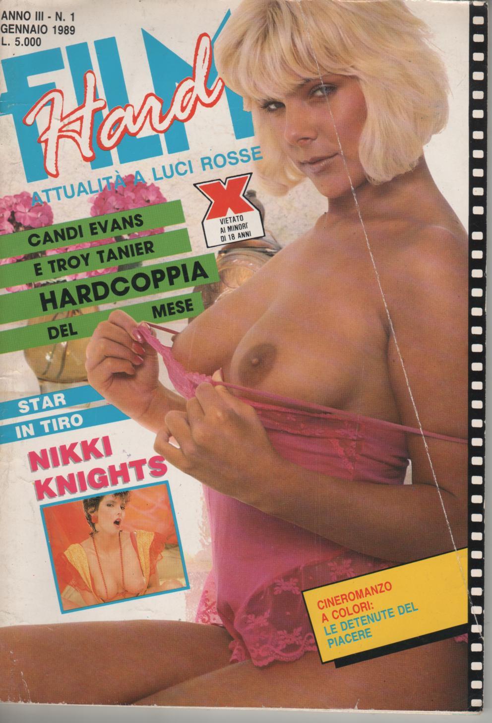 FILM HARD   # 1 / 1989 LE DETENUTE DEL PIACERE  fotofilm