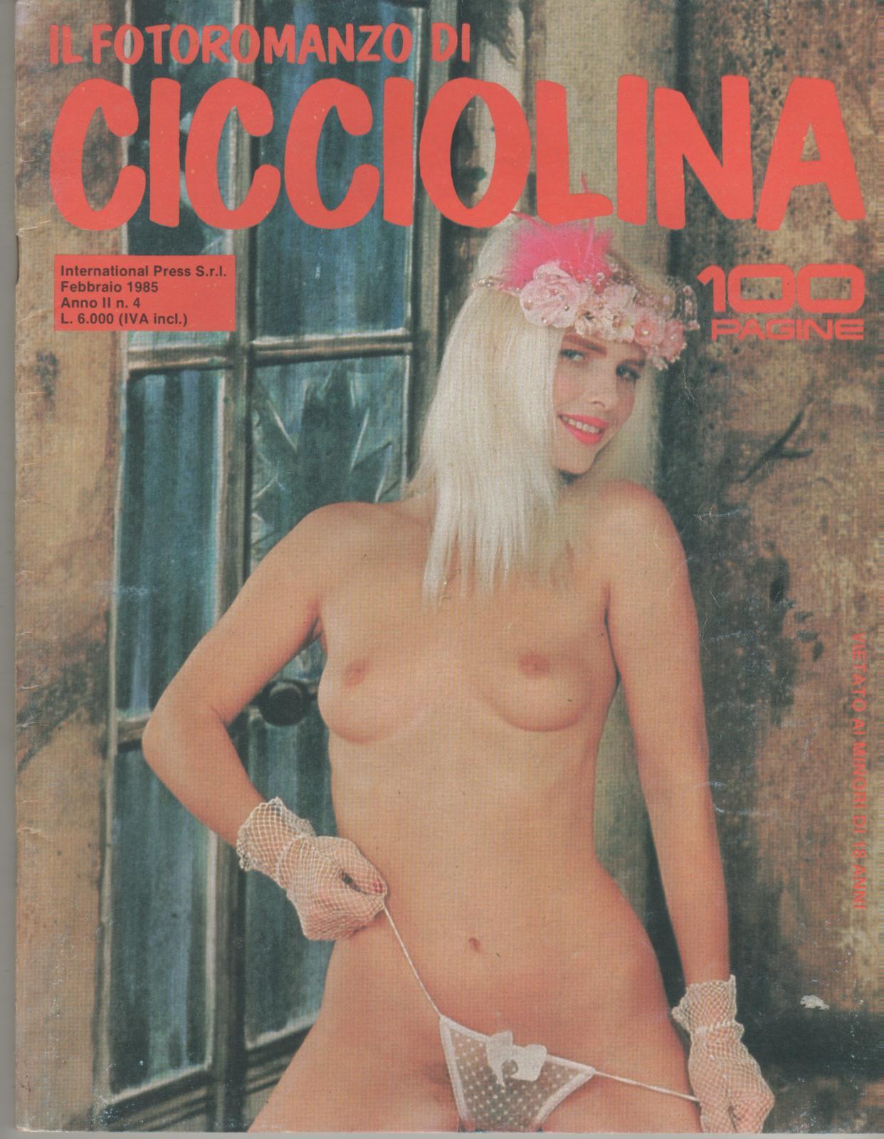 IL FOTOROMANZO DI CICCIOLINA  # 4