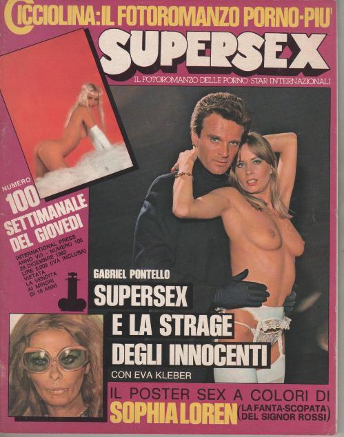 SUPERSEX  N. 100   SUPERSEX E LA STRAGE DEGLI INNOCENTI