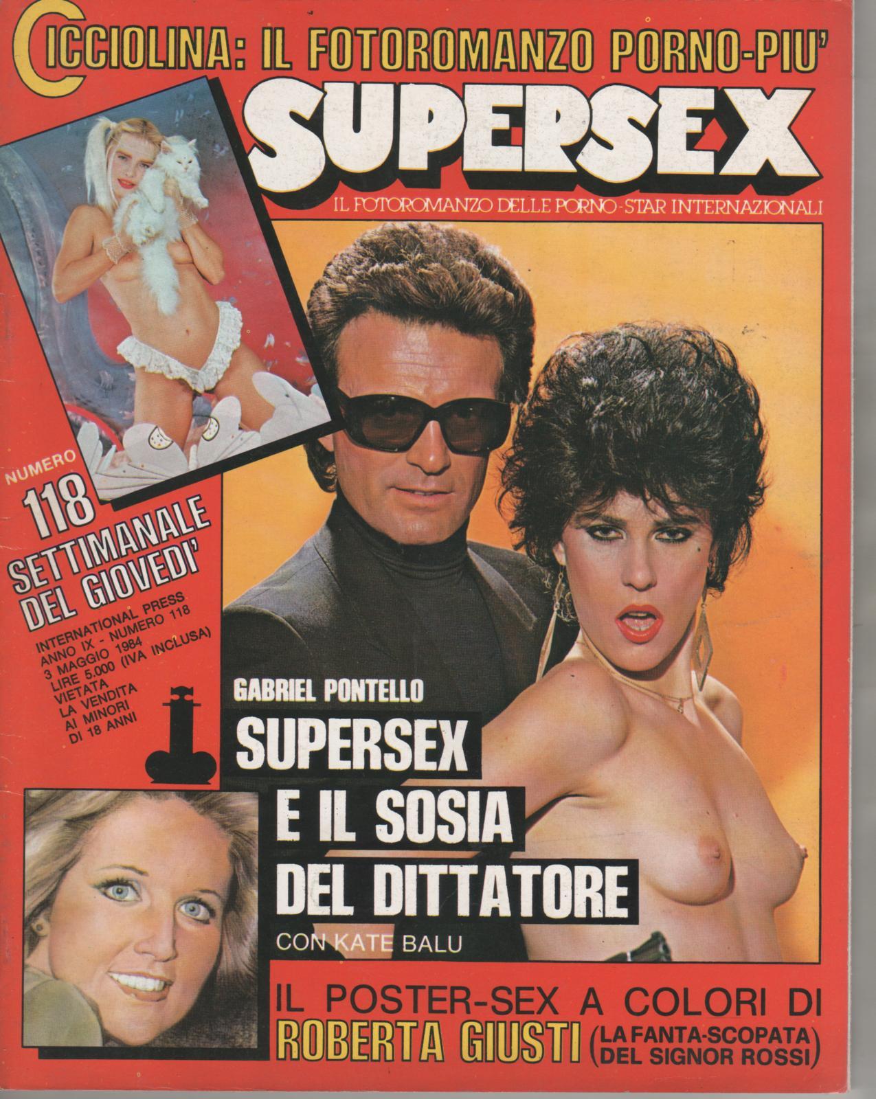 SUPERSEX  N. 118   SUPERSEX E IL SOSIA DEL DITTATORE