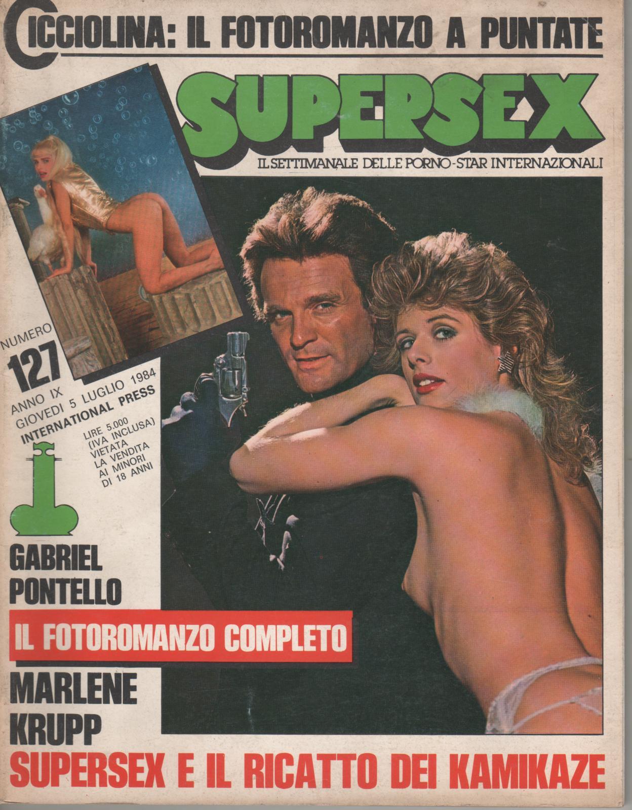 SUPERSEX  N. 127   SUPERSEX E IL RICATTO DEI KAMIKAZE