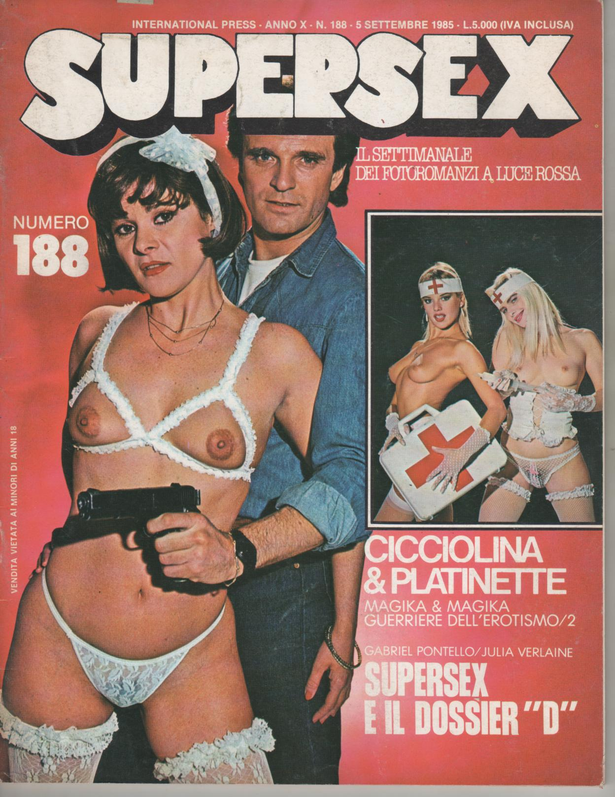 "SUPERSEX  N. 188   SUPERSEX E IL DOSSIER ""D"""