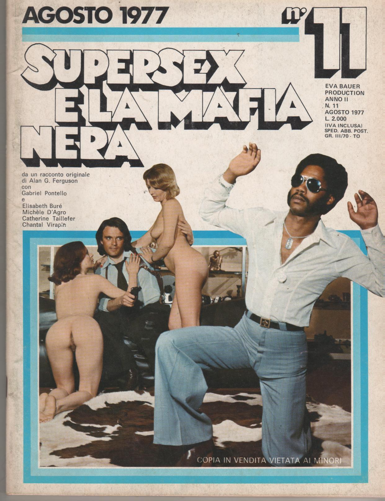 SUPERSEX  N. 11    SUPERSEX E LA MAFIA NERA