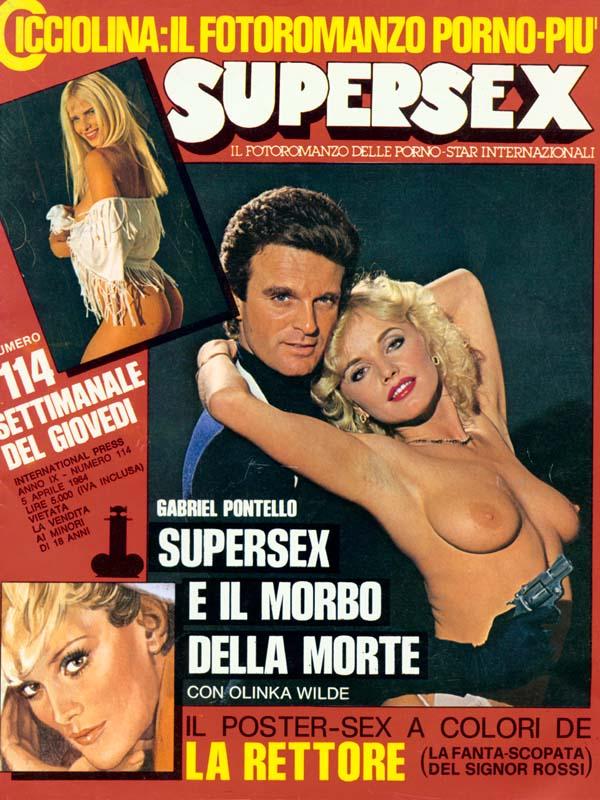 SUPERSEX  N. 114   SUPERSEX E IL MORBO DELLA MORTE