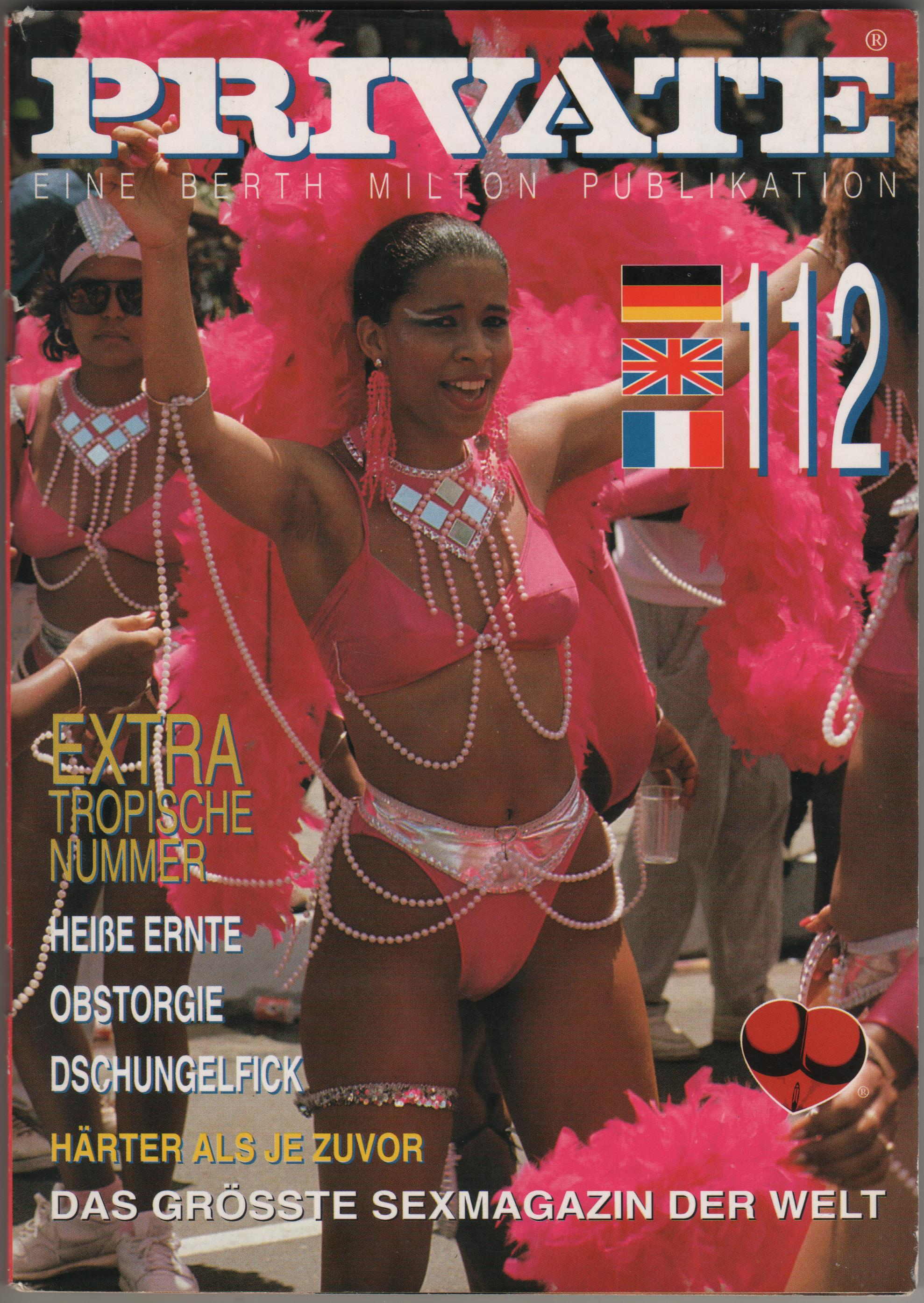 PRIVATE MAGAZINE N.112 carla joy lydia celine trinidad carnival