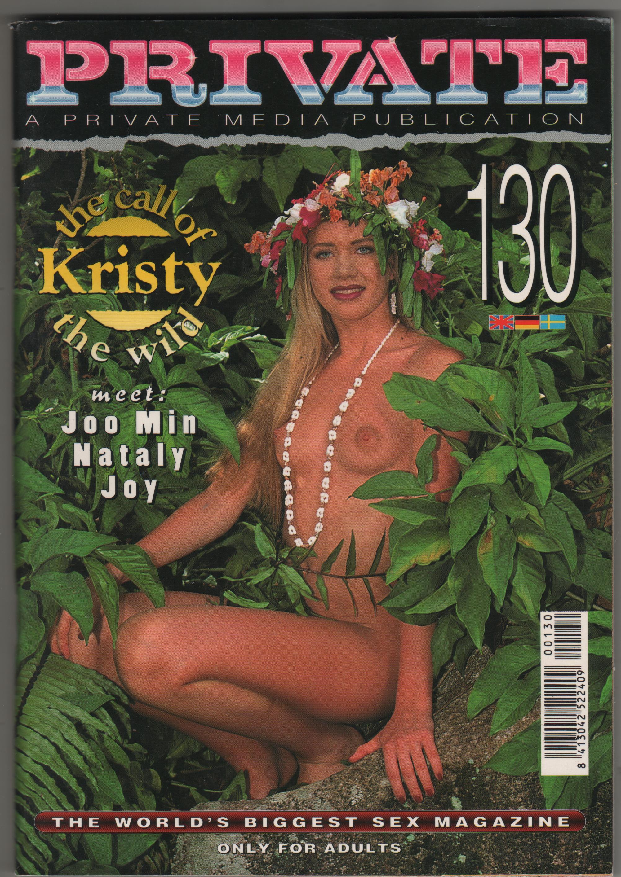 PRIVATE MAGAZINE N.130 kristy lion anita blond joy kiss nataly