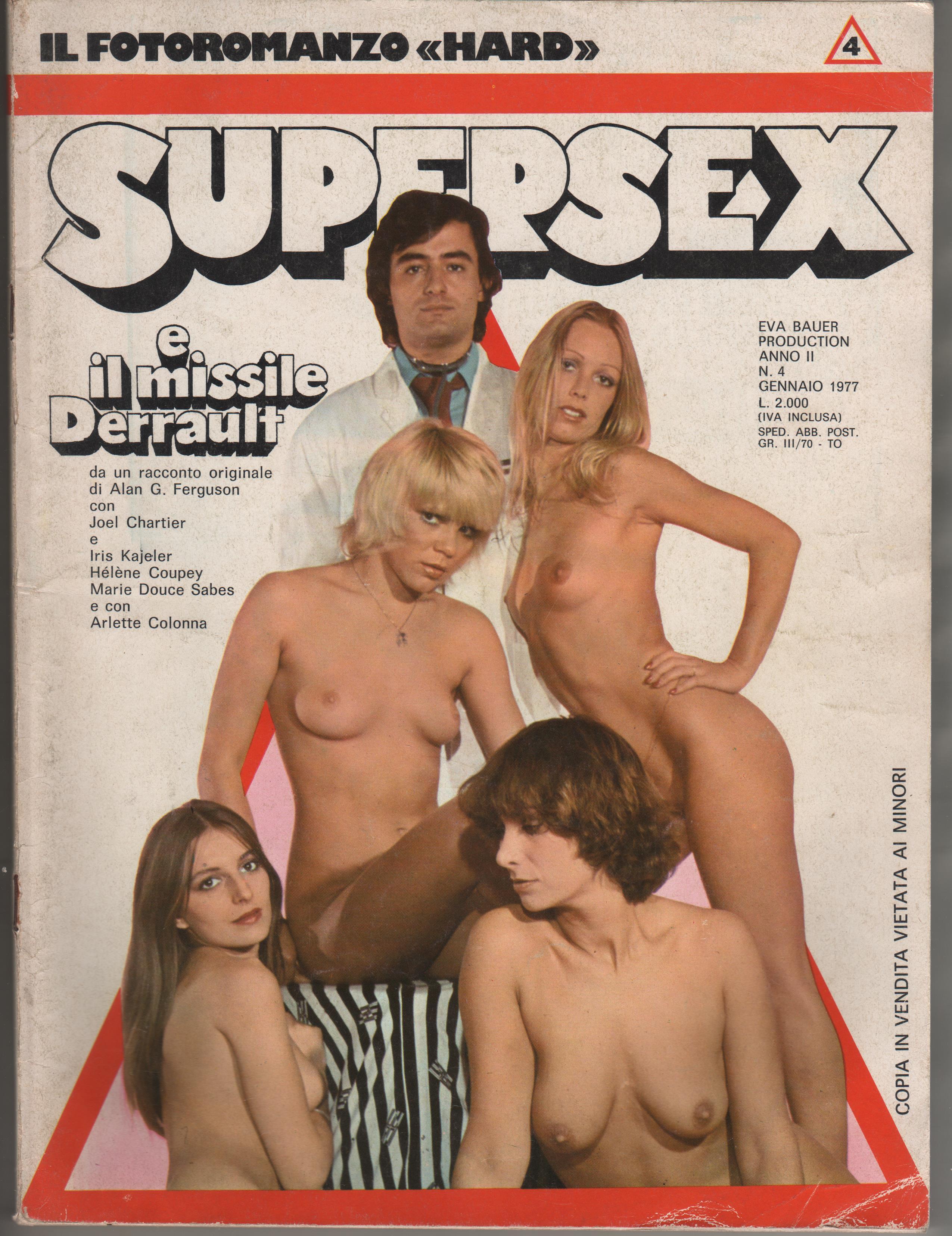 SUPERSEX  N. 4    SUPERSEX E IL MISSILE DERRAULT