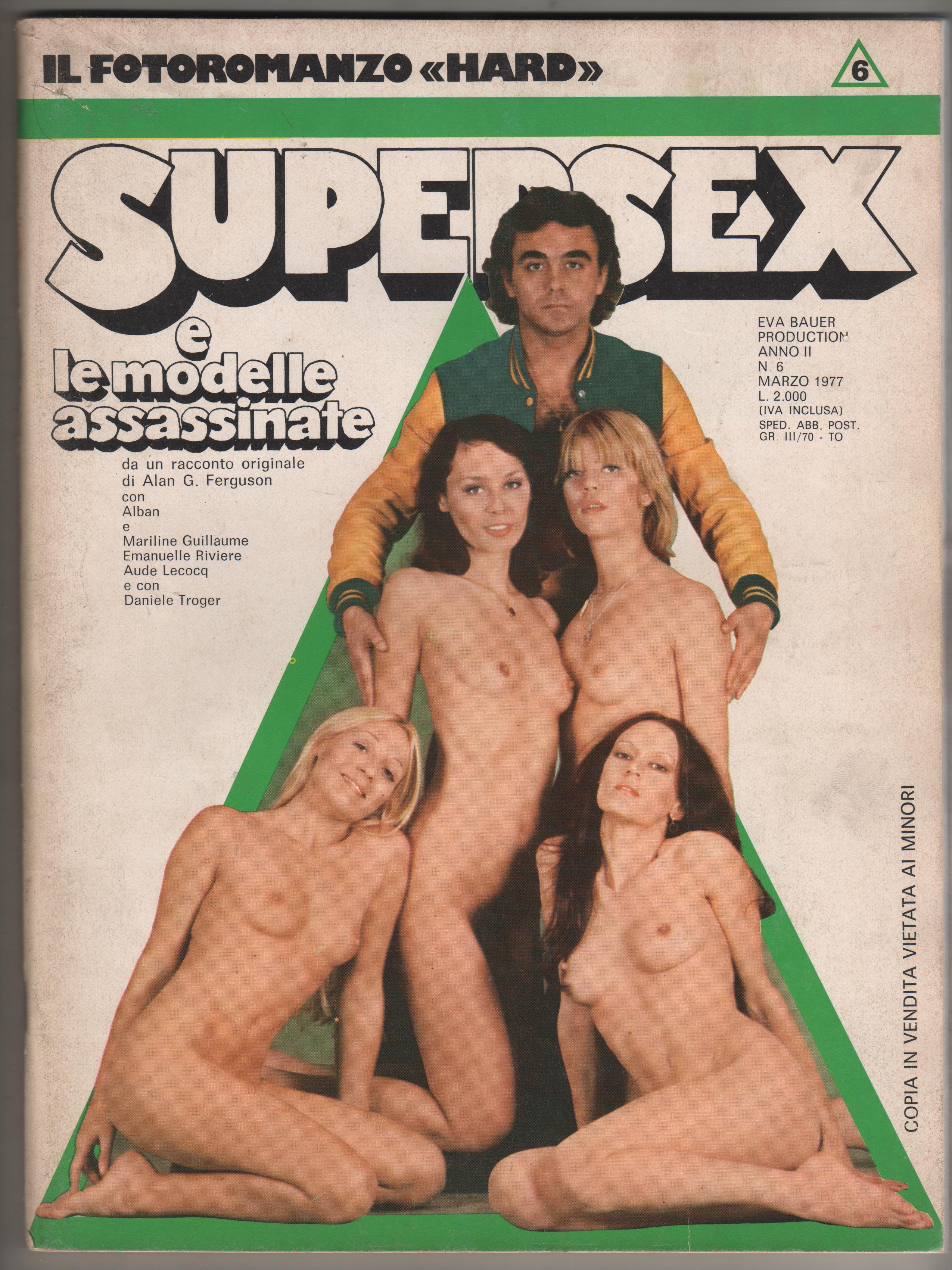 SUPERSEX  N. 6    SUPERSEX E LE MODELLE ASSASSINATE